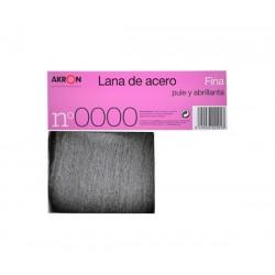 Lana de acero nº 0000 150 g fina