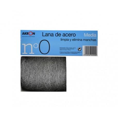 Lana de acero 150 gr nº 0 media
