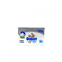 Dodot toallitas sensitive 108 u