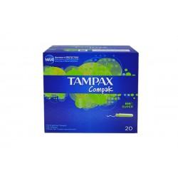 Tampones Tampax compack super 20 unidades