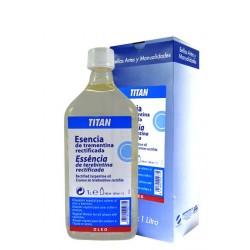 Titan esencia de trementina rectificada 1 L