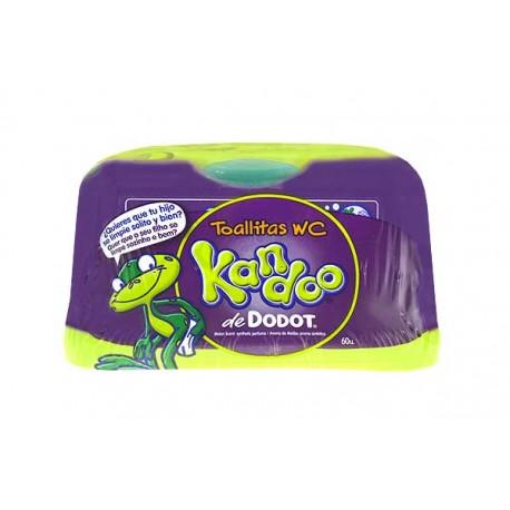 Tovalloletes WC Kandoo caixa 60u