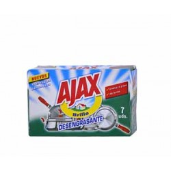 Ajax estropajos jabonosos 7 unidades