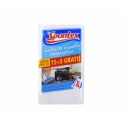 Spontex gamuza atrapa polvo 15+5 unidades