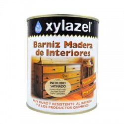 Xylazel al agua barniz interior satinado 750 ml