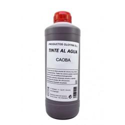 Tinte al agua caoba 1 L