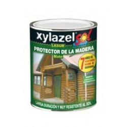 Xylazel lasur sol mate 750 ml nogal