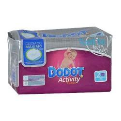 Tovalloletes infantils Dodot Activity 24 unitats