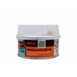 Masilla poliéster con fibra de vidrio 350g