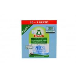 Frosch pastillas lavavajillas 30+3