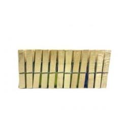 Pinzas de madera 24 unidades