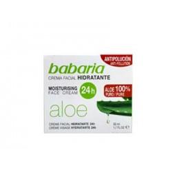 Babaria aloe crema hidratante 50 ml