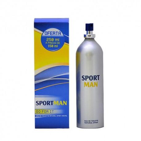Sport man colònia de 250 a preu de 150ml