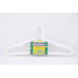 percha Plastiken pack de 3 unidades