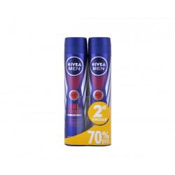 Nivea for men desodorante 200 ml dry impact duplo