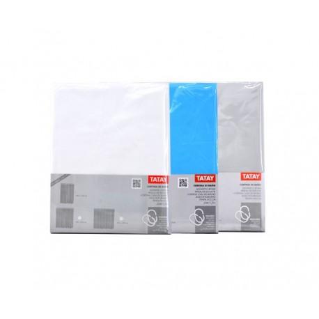 Tatay cortina baño 220x200 blanca