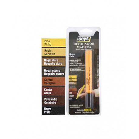 Ceys rotulador retocador madera color Nogal oscuro