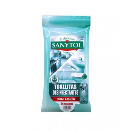 Sanytol toallitas desinfectantes 24 u