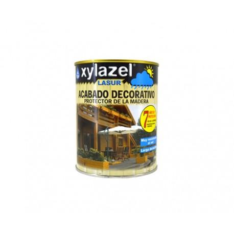 Xylazel lasur aqua exterior satinado incoloro 750 ml