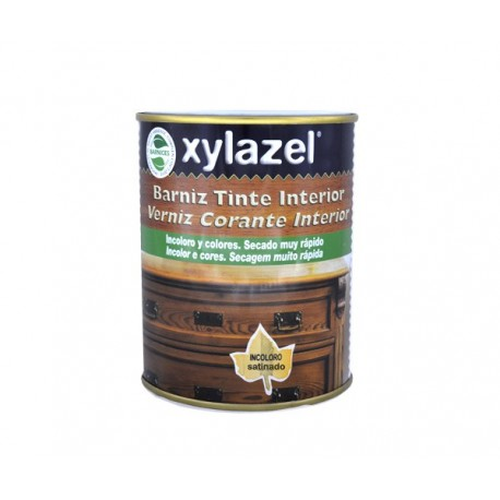 Xylazel barniz tinte satinado incoloro 125 ml