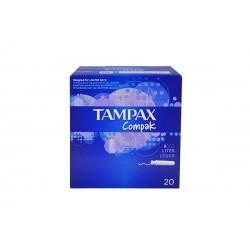 Tampons Tampax compack lites 20unitats