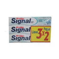 Dentifrici Signal Blanquejador amb bicarbonat 3x2