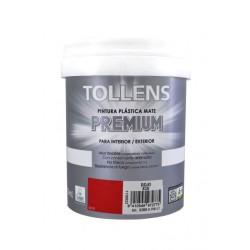Tollens premium plástica mate 4 lt Rojo 830