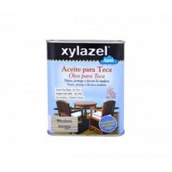 Xylazel aqua aceite para teca 750 ml incoloro