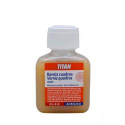 Titan barniz cuadros mate 100 ml