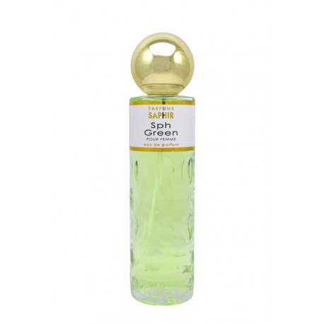 Eau de parfum Saphir 108 sph green 200ml
