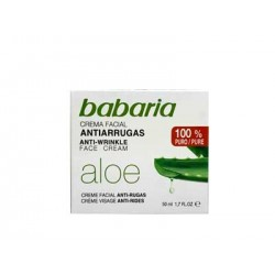 Babaria aloe crema antiarrugas 50 ml