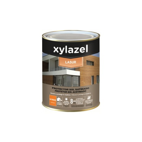 Xylazel lasur satinado sol incoloro 750 ml