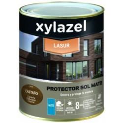 Xylazel plus lasur mate 4 lt castaño