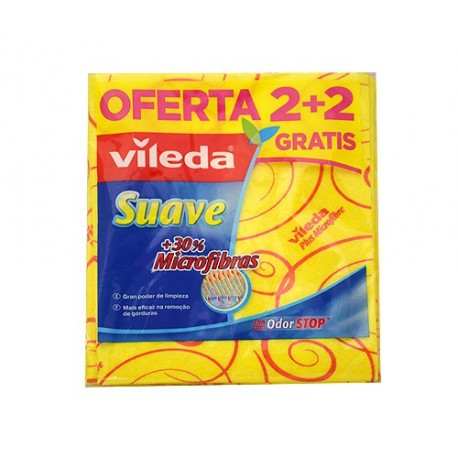 Baieta Vileda Suave 2+2 unitats