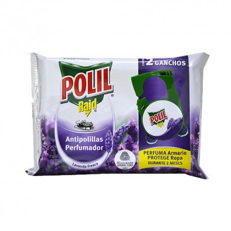 Polil de Raid anti arnes per penjar de Lavanda 2u