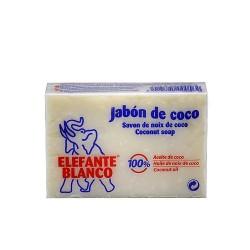 Sabó de Coco Elefante blanco pastilla 225gr