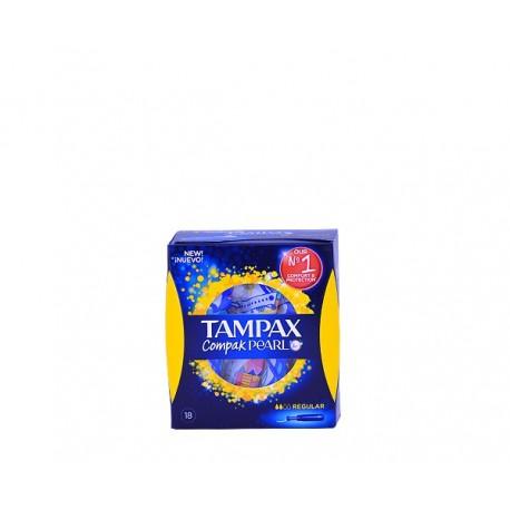 Tampones Tampax compack pearl regular