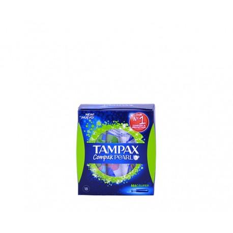 Tampons Tampax compack pearl super